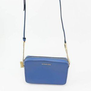 Michael Kors Womens Crossbody Bag Vintage Blue